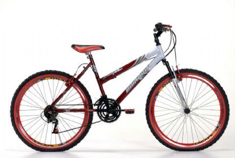 Compro Bike 26 Fem.Lady MAX c/m. Vermelha/Bic