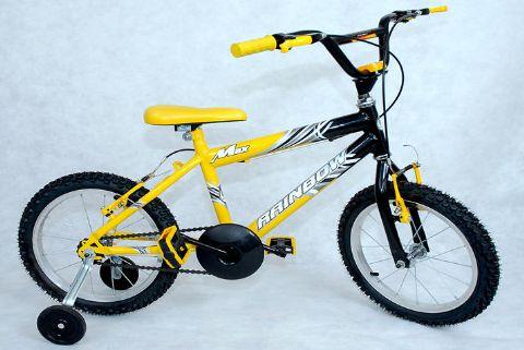 Compro Bike 16 Masc.Max Amarela/Bicolor