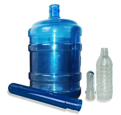 Comprar Preformas - material está sólido e muda de estado físico para ser injetado.