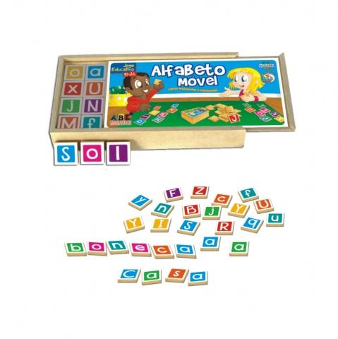 Compro Alfabeto Móvel (128 peças)