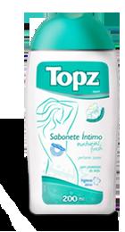 Sabonete Íntimo Topz Natural Fresh