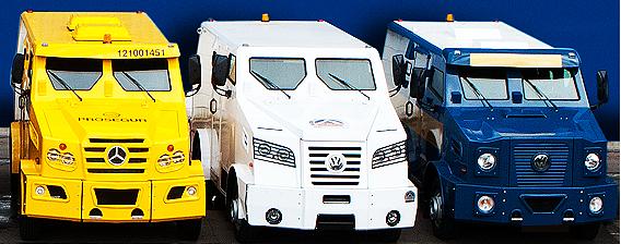 Comprar Transporte de valores - os veículos especiais para o transporte de valores são frequentemente usados pelo setor bancário para a movimentação de dinheiro, documentos e outras mercadorias de altíssimo valor agregado.