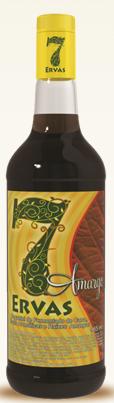 Compro 7 Ervas - a linha de aguardente leva em sua composição ervas aromáticas.