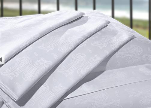Compro Jacquard 350 Fios - jogo de roupa de cama de 100% algodão.