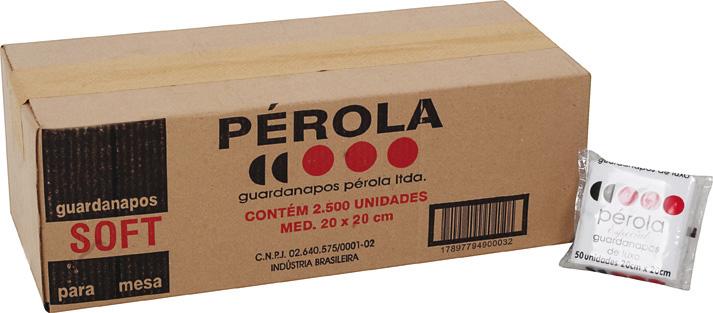 Compro Guardanapo Perola 20x20 c/5000.