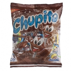 Pirulitos Chupito Chocolate 500g
