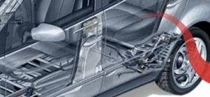 Compro Automotivo - utilização do nãotecido de filamento contínuo ou cardado, agulhado ou termoligado na confecção de componentes automotivos continua em expansão devido a seu baixo custo em relação aos materiais alternativos .