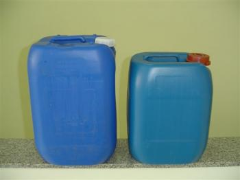 Compro Bombona 25/30 Lts TF reutilizada azul
