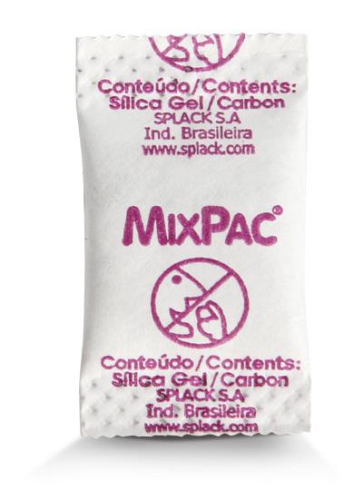 Compro Sachê Mix (sílica + carvão)