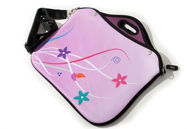 Compro Case para Notebook Premium Rosa Flores