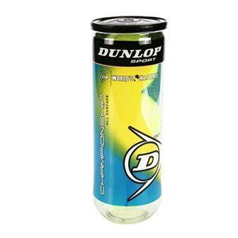 Compro Bola de Tênis Dunlop Championship tubo c/ 4 Bolas
