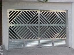 Compro Portões em aluminio