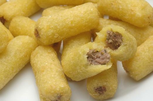 Compro Croquete de Mandioca com Carne Seca