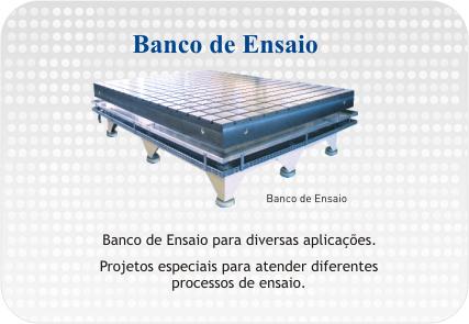 Compro Banco de Ensaio
