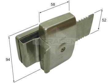 Compro Fechadura de segurança para porta de CORRER (dispensa recorte)