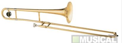 Compro Trombone de Vara Jupiter JSL232L em Sib (Bb) com Case - Laqueado Dourado