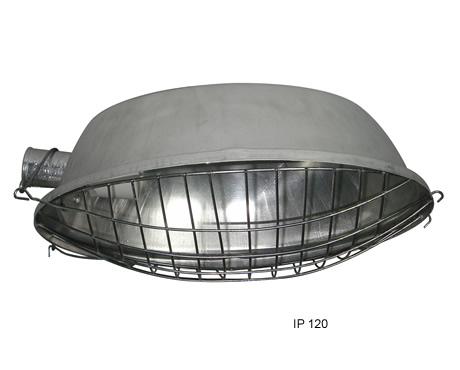 Compro Luminária oval com grade de proteção