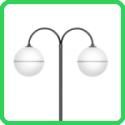 Compro Luminária decorativa esférica SBD-102