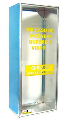 Compro Caixa alumínio p/ extintor