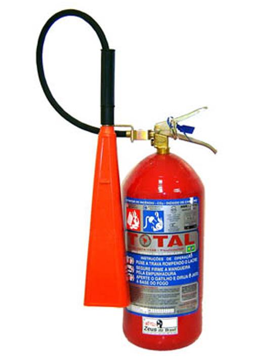 Compro Extintor gás carbônico (CO2)