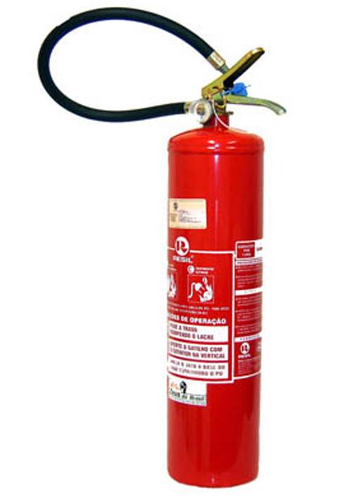Compro Extintor pó químico BC