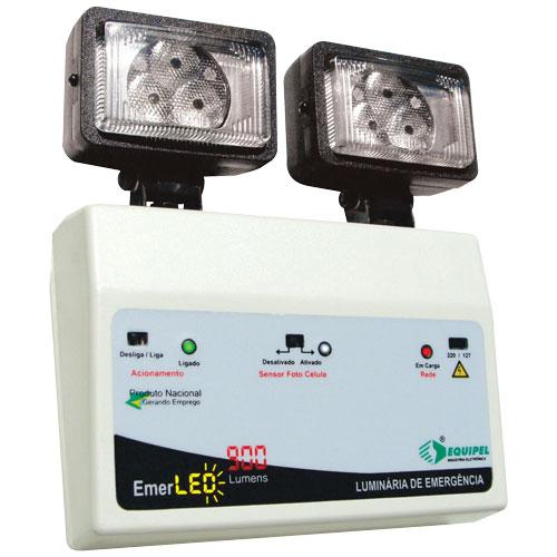 Compro Iluminação de emergência LED 2x9W c/ bateria selada