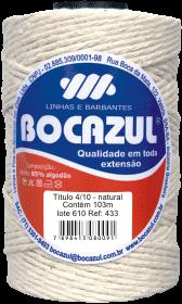 Compro Barbante Bocazul tubete natural 200g