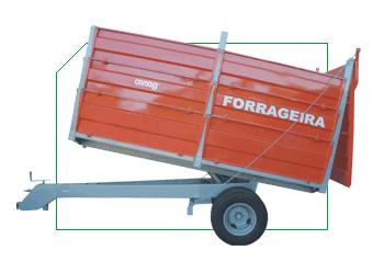 Compro CBHM 10.000 Forrageira - Basculante Hidráulica com Rodado Duplo (6 toneladas)