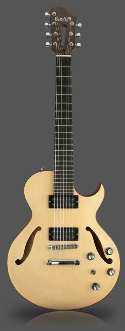Compro Guitarra Castelli Custom FH 7 Hollow Body