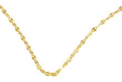 Compro Corrente ouro amarelo Pipoca 45 cm