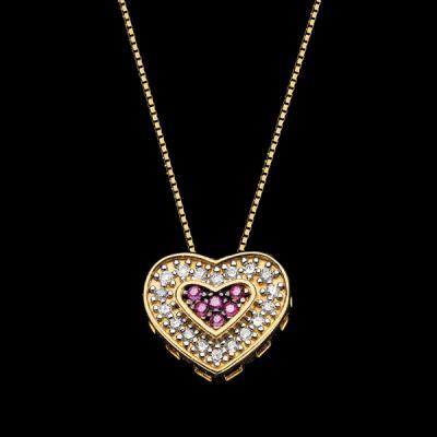Compro Gargantilha em ouro 18K com diamantes