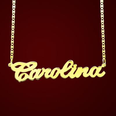 Compro Gargantilha em ouro 18K