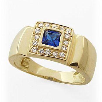 Compro Anel de formatura em ouro 18K com diamantes