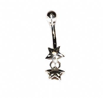 Compro Piercing Estrela em ouro 18K