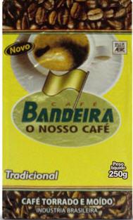 Compro Café Bandeira Vácuo Tradicional 250g