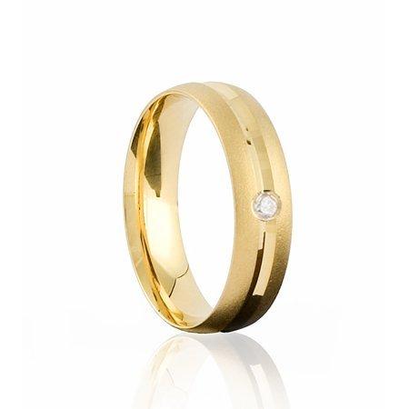 Compro Alianças de Ouro com diamante