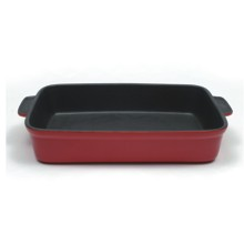 Compro Travessa Microstoven Vermelha M&W - 35 X 25 Cm