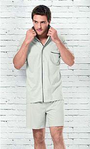 Compro Pijama Masculino Fits Well M Cinza