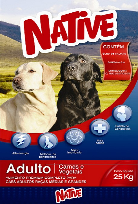 Compro RAÇÃO NATIVE ADULTO MIX - Premium