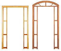 Compro Portais de madeira