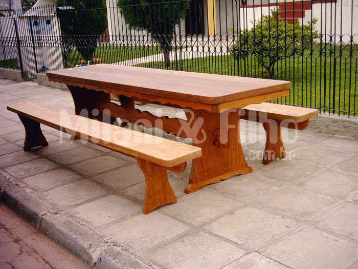 Compro Mesa de madeira natural