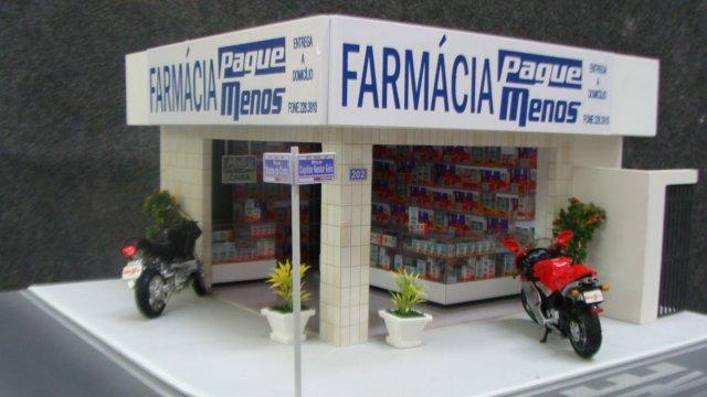 Compro Maquete de farmacia