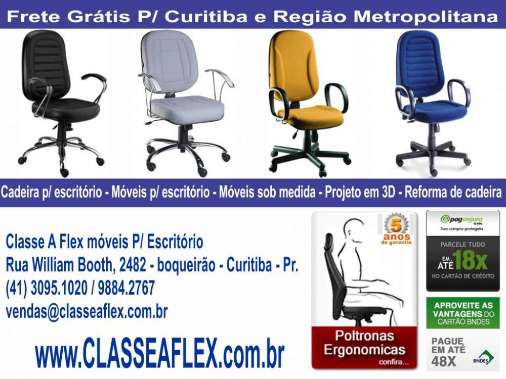 Compro Cadeira para Escritorio Curitiba