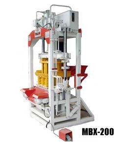 Compro Máquina de Blocos MBX-200