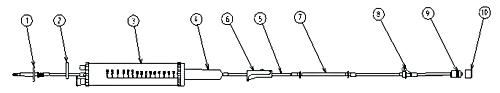 Compro Equipo com Bureta e Injetor Lateral MED PUMP (Cód. 59000229)