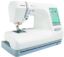 Compro Máquina de Bordar Janome MC10001
