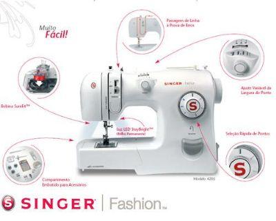 Compro Maquina de costura Fashion 4205 Singer