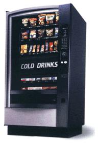 Compro Maquina Combinado Crane 474 (Snacks + Refrigerantes)