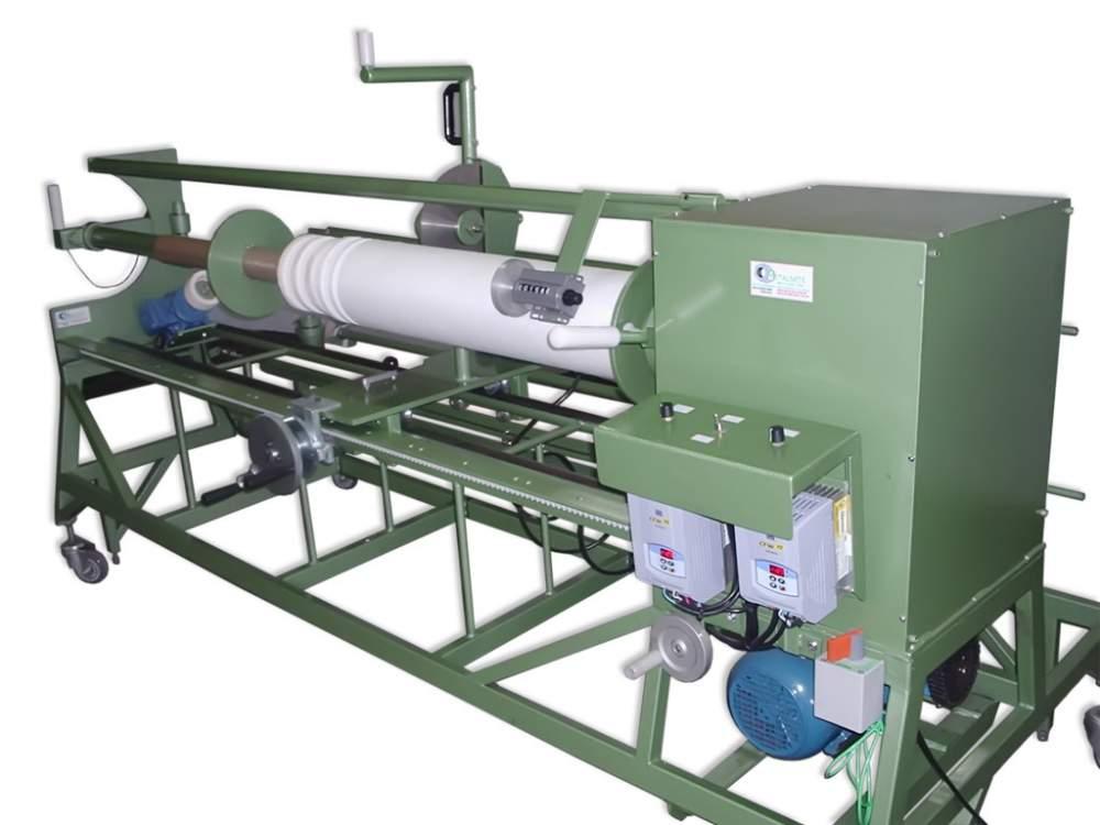 Compro Desbobinadeira e rebobinadeira para corte de material em rolo