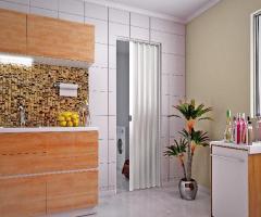 Porta PVC Sanfonada 60cm